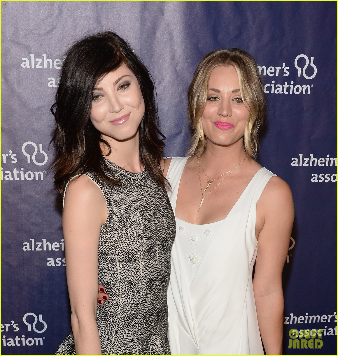 kaley cuoco attends a night at sardis with ryan sweeting sister briana 073079551