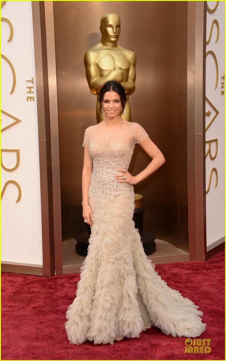 jenna dewan nude fairy on oscars 2014 red carpet with channing tatum 01