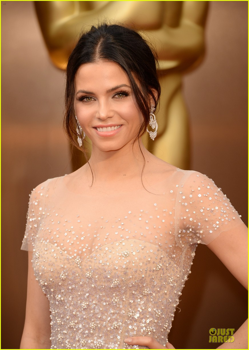 jenna dewan nude fairy on oscars 2014 red carpet with channing tatum 02