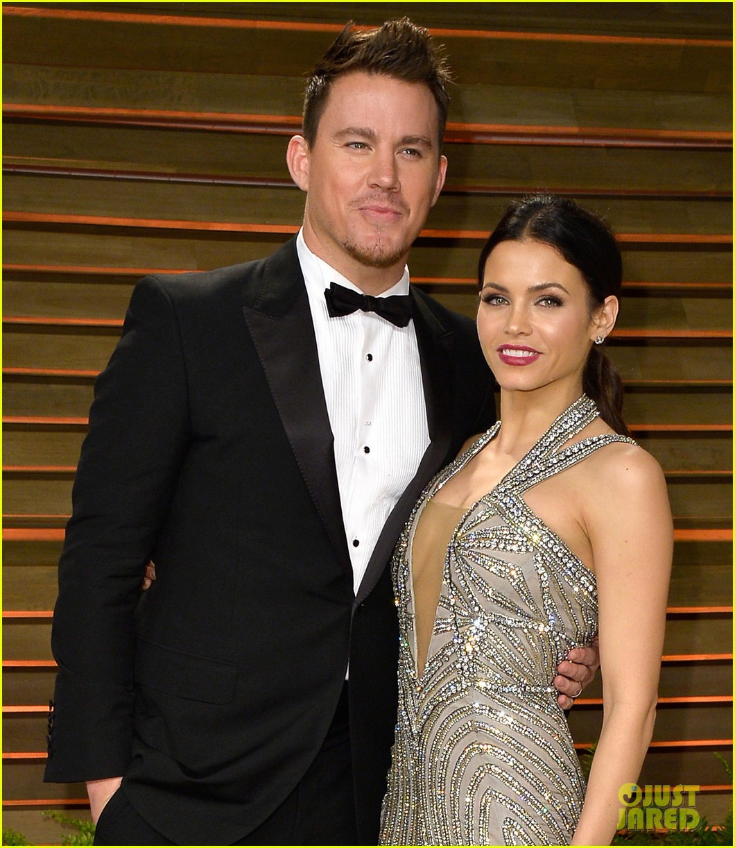 jenna dewan channing tatum vanity fair oscars party 2014 09