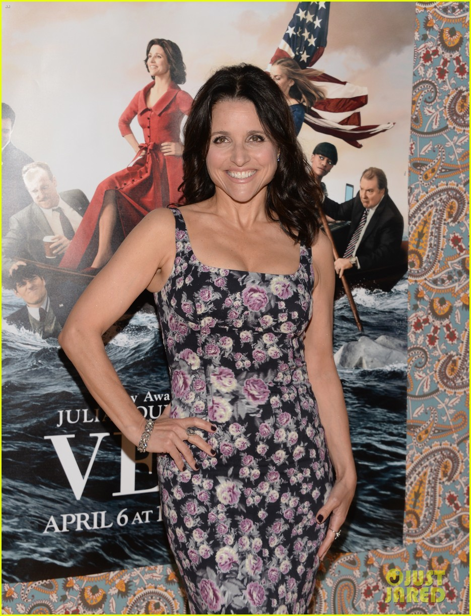julia louis dreyfus celebrates the season three premiere of veep 123078256