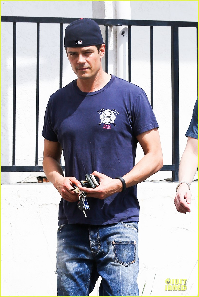 josh duhamel cant get enough of early world 20