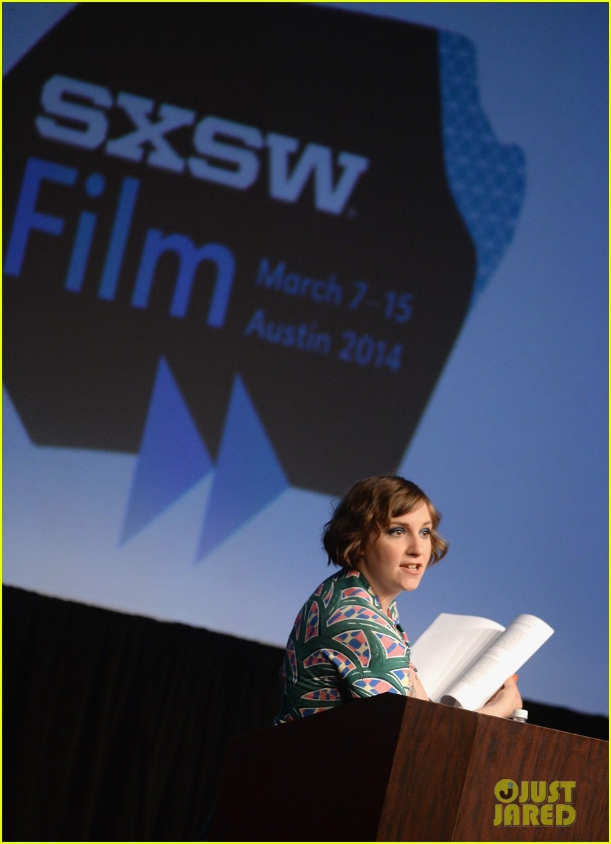 lena dunham opens up about at sxsw 2014 01