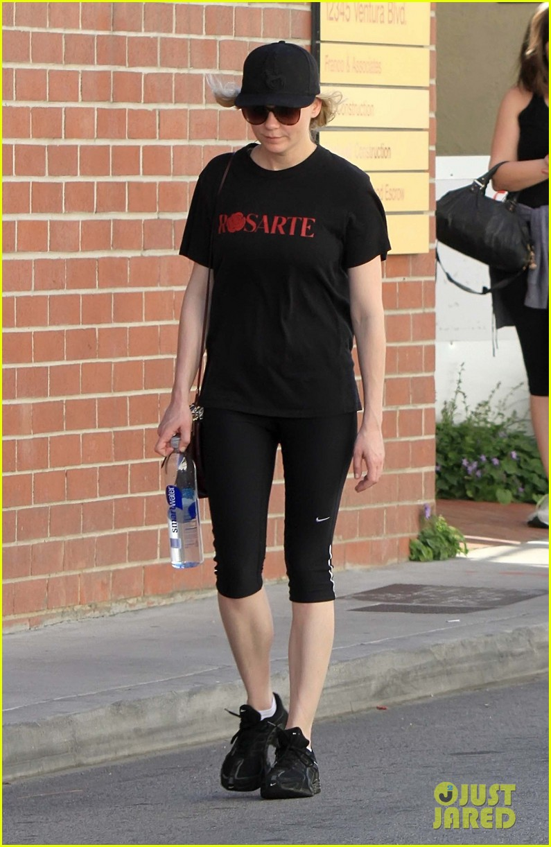kirsten dunst is all about rodarte at the gym 01