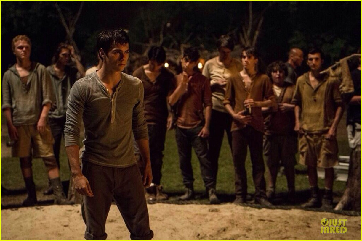 dylan obrien maze runner trailer will premiere on monday 01