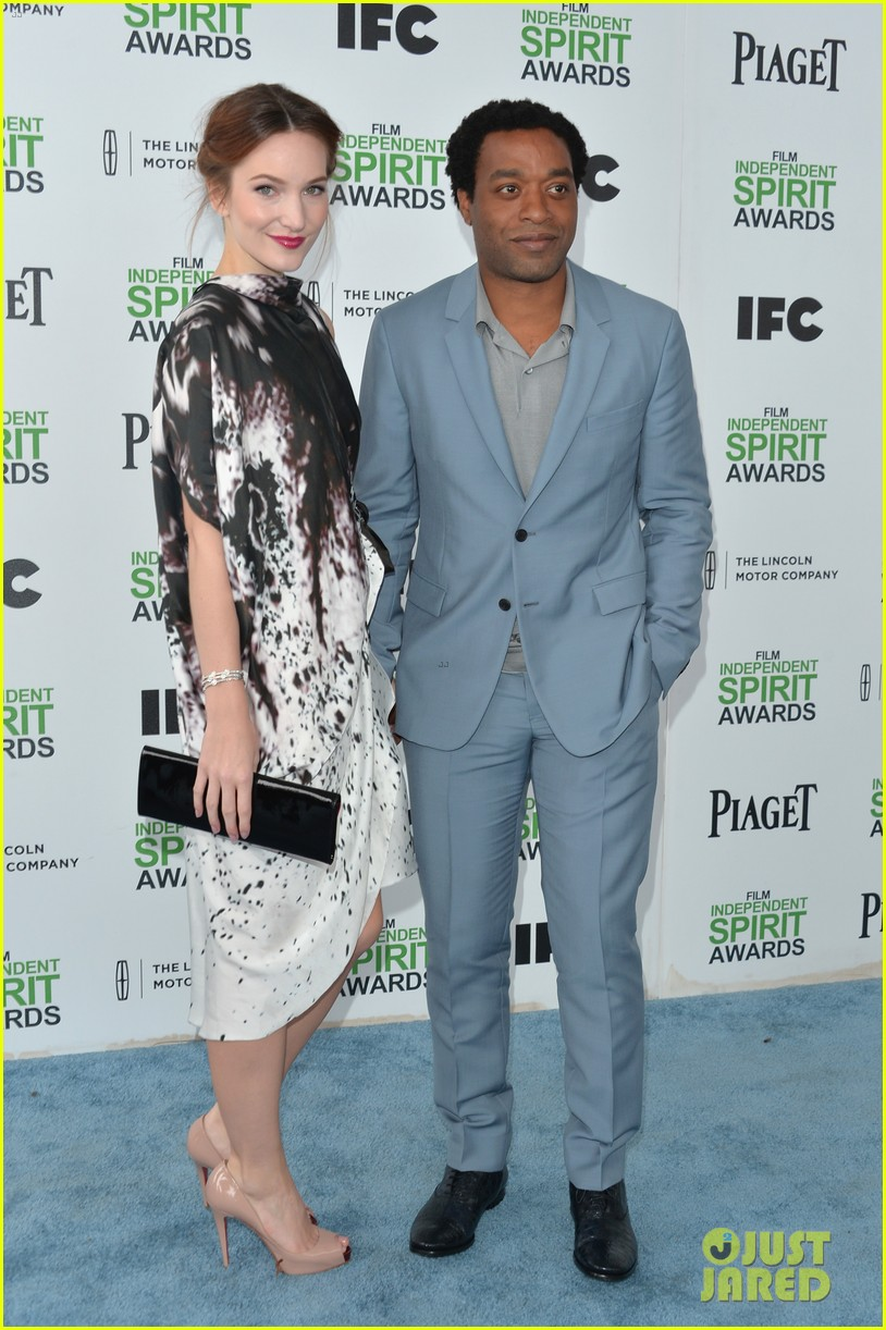 chiwetel ejiofor spirit awards 2014 with girlfriend sari mercer 013063042