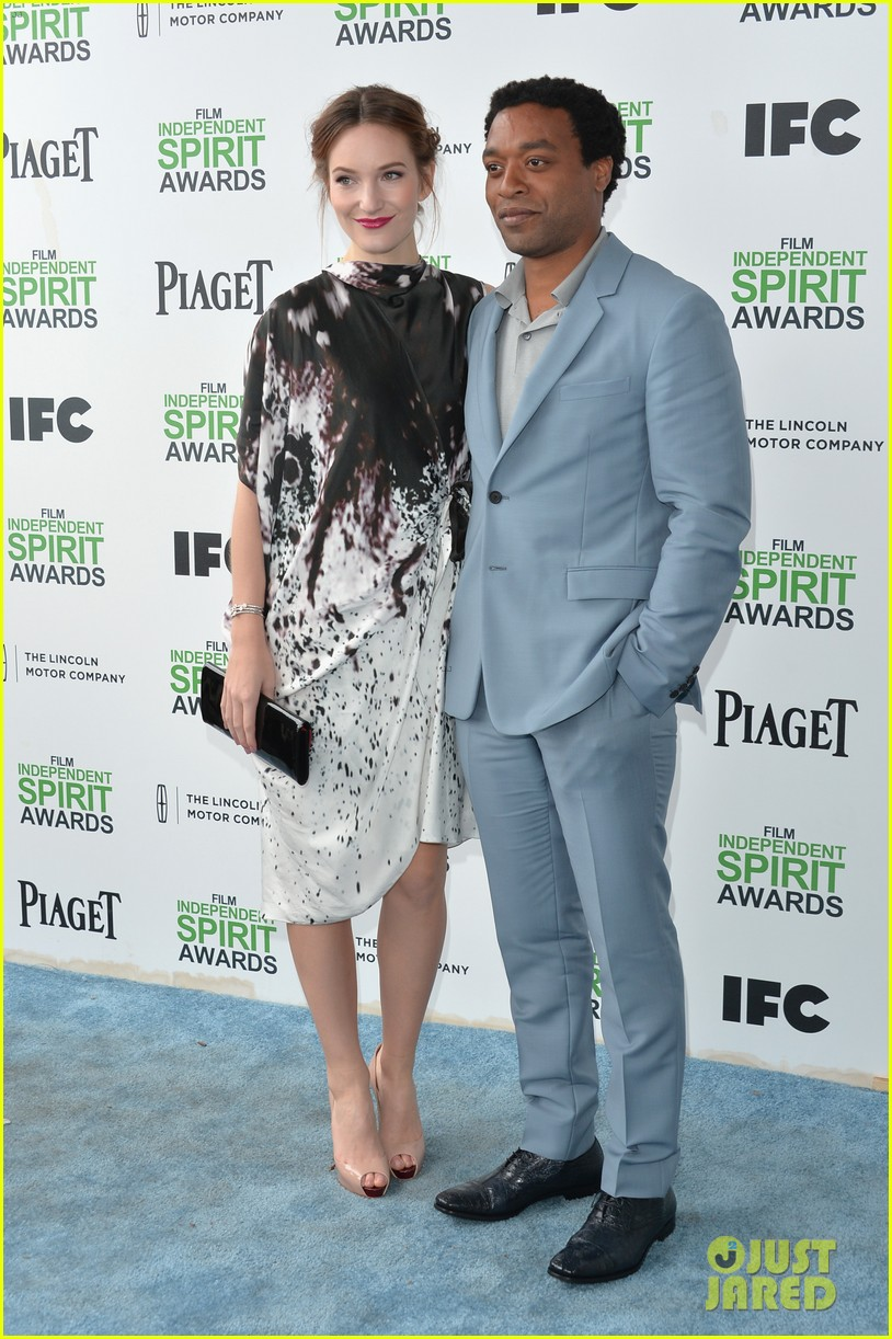 chiwetel ejiofor spirit awards 2014 with girlfriend sari mercer 073063048