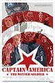 chris evans scarlett johansson go retro captain america poster 01