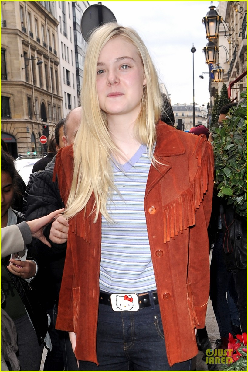 elle fanning makes a fringe fashion statement in france 08