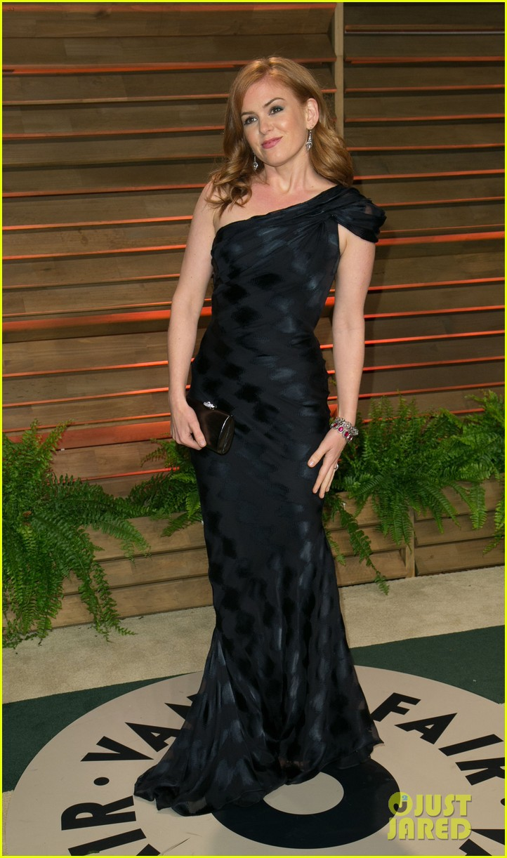 isla fisher vanity fair oscars party 2014 033064411