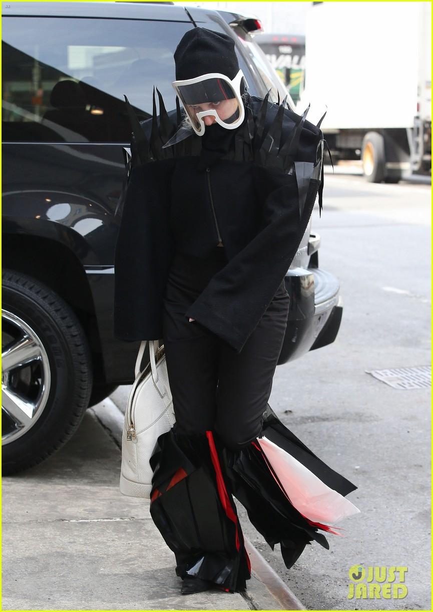 lady gaga futuristic outfit guy video 11