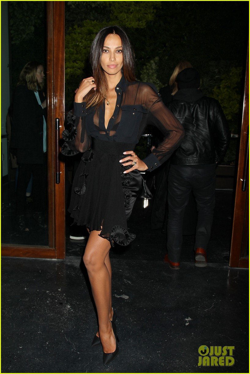 madalina ghenea switches it up at dom hemingway after party 11