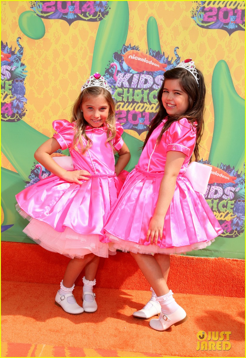 sophia grace rosie kids choice awards 2014 04