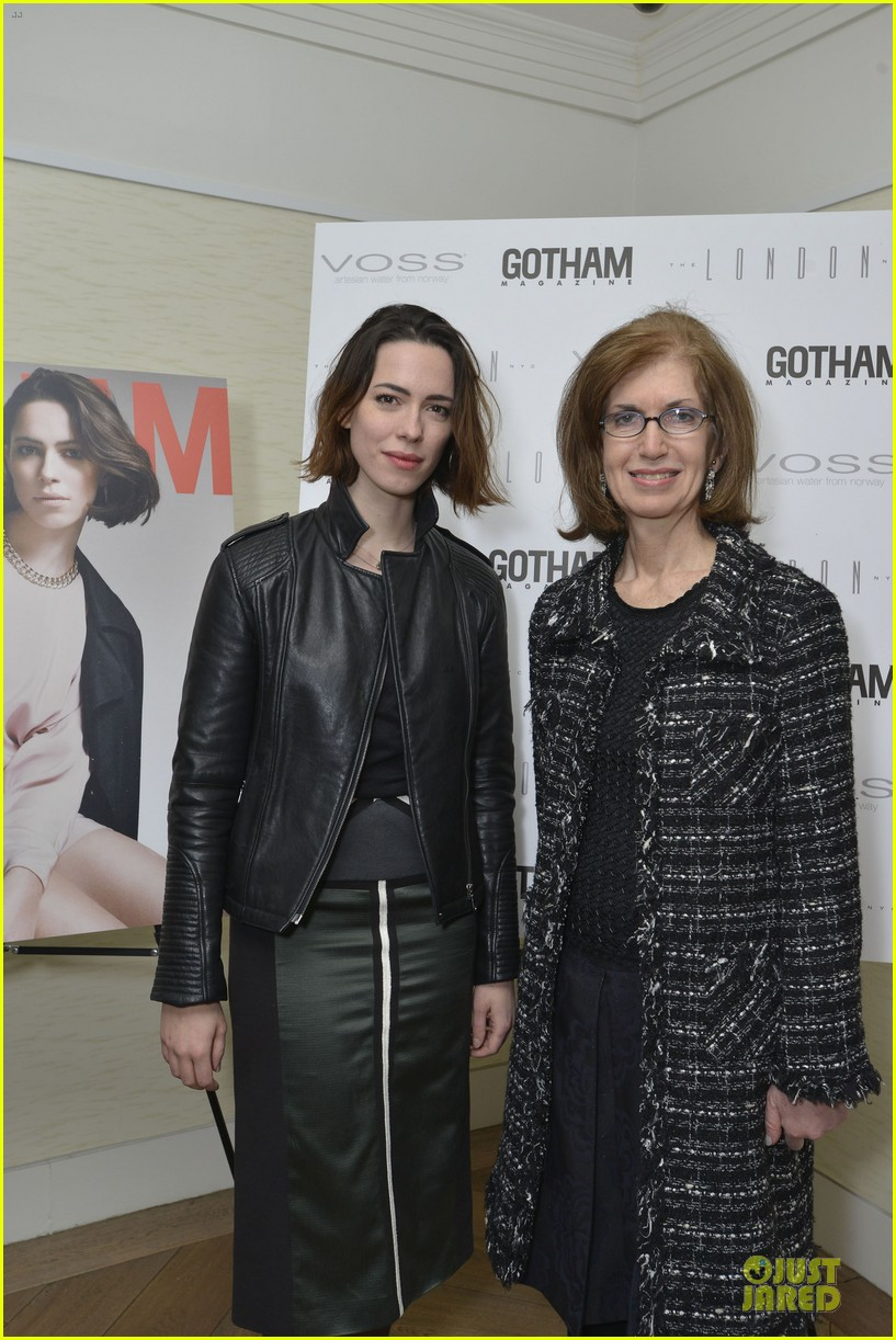 rebecca hall sports leather for gotham magazine cover party 05
