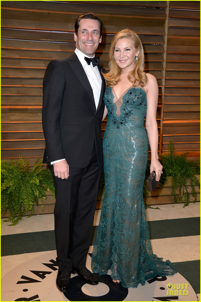 jon hamm jennifer westfeldt vanity fair oscars party 2014 01