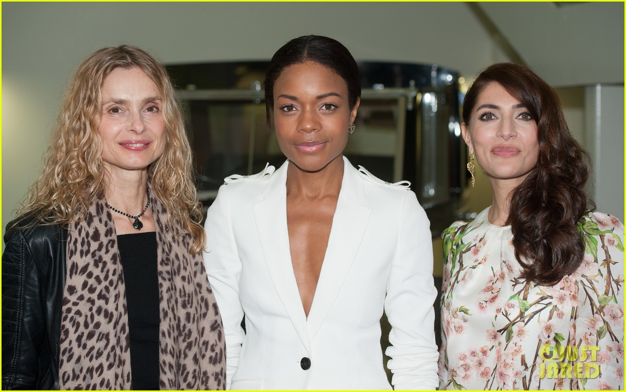naomie harris bond in motion press conference 06