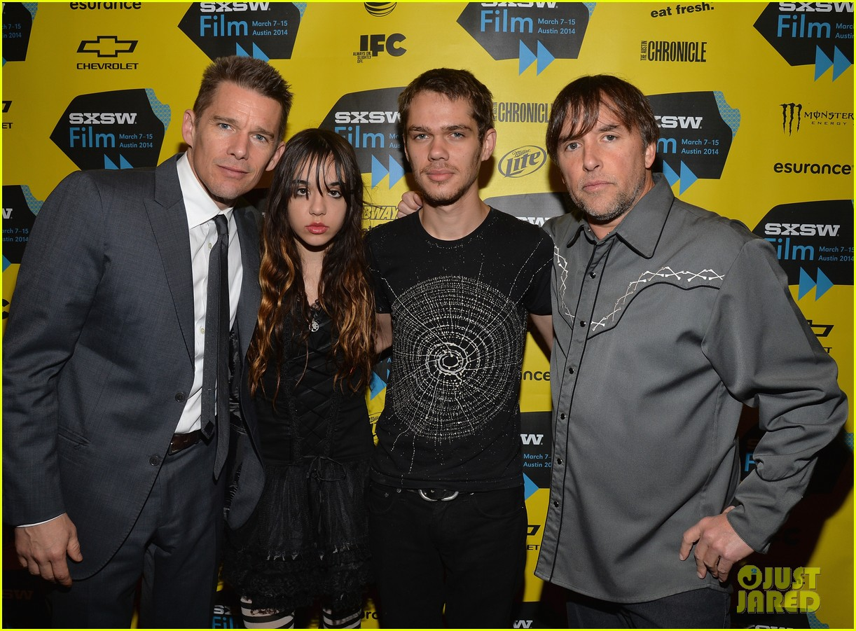 ethan hawke richard linklater premiere next movie 09