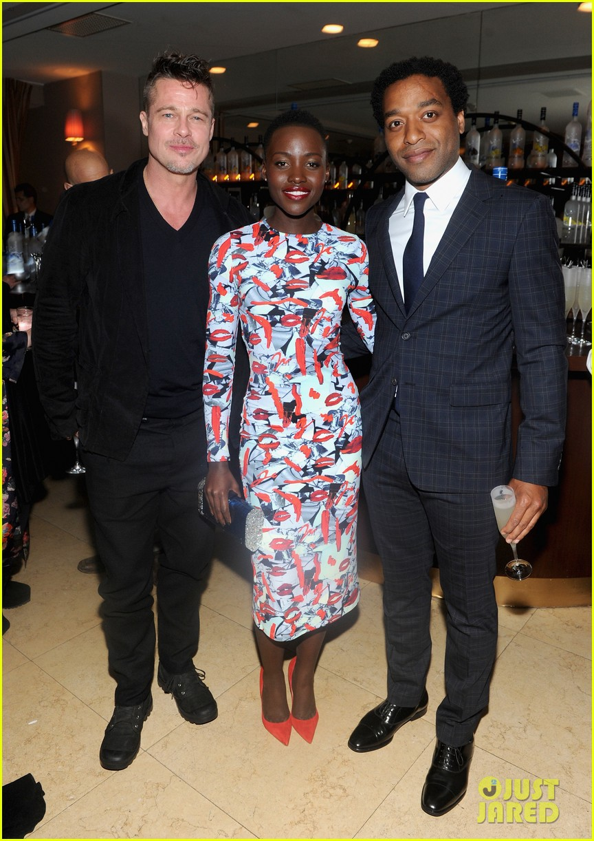 angelina jolie brad pitt 12 years dinner with lupita nyongo 083063349