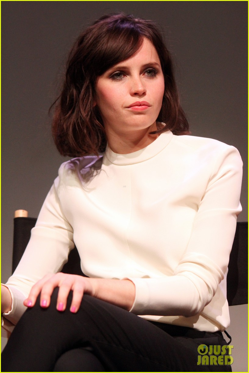 felicity jones breathe in screening apple store presents 073073874
