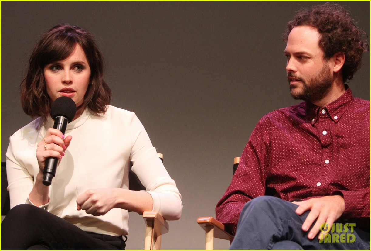 felicity jones breathe in screening apple store presents 12