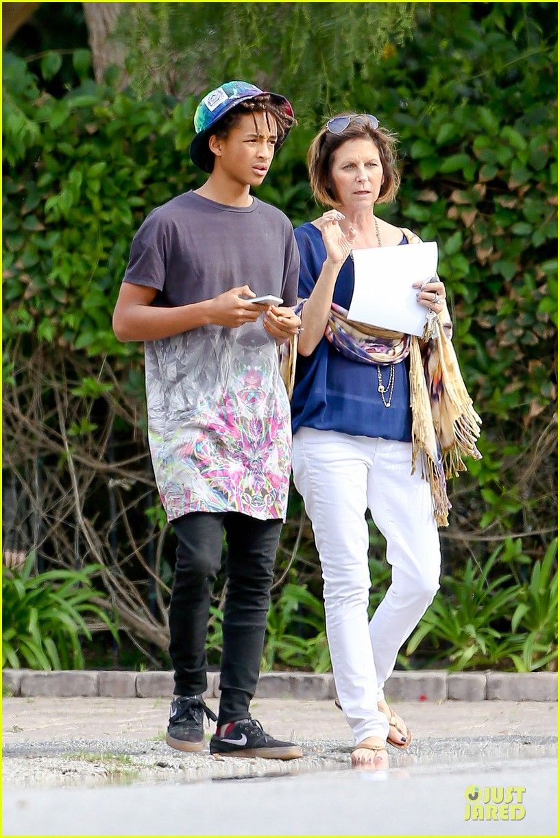 kendall kylie jenner meet up with super excited jaden smith 05