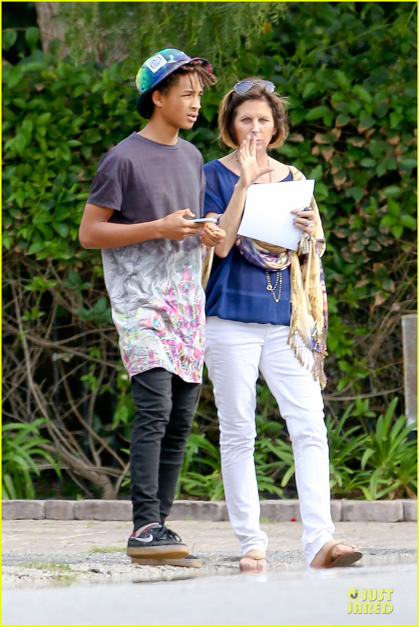 kendall kylie jenner meet up with super excited jaden smith 103072202