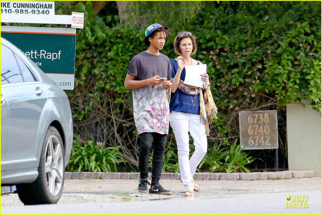 kendall kylie jenner meet up with super excited jaden smith 11