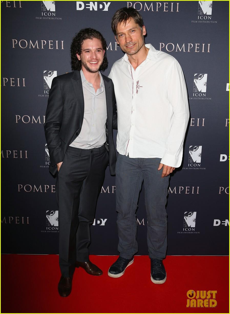 kit harington nicolaj coster waldau make us swoon at pompeii sydney premiere 01