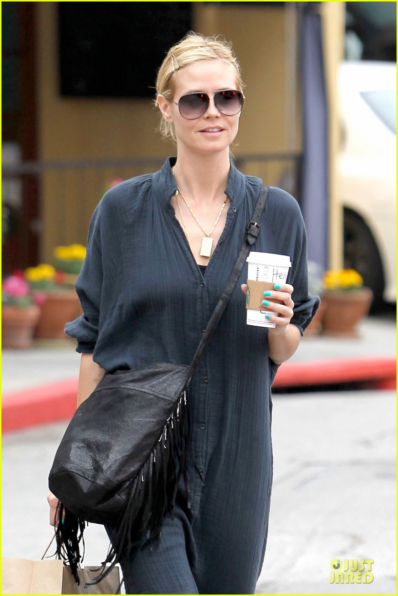 heidi klum shows beauty of being pregnant 04