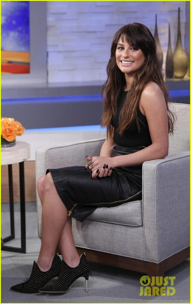 lea michele brings louder to good morning america 013066510