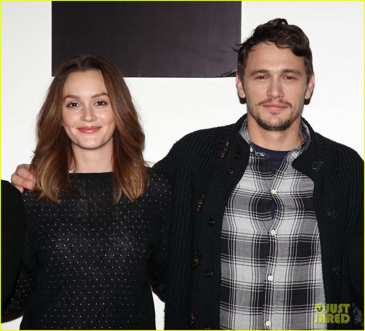 leighton meester james franco of mice men broadway preview 15