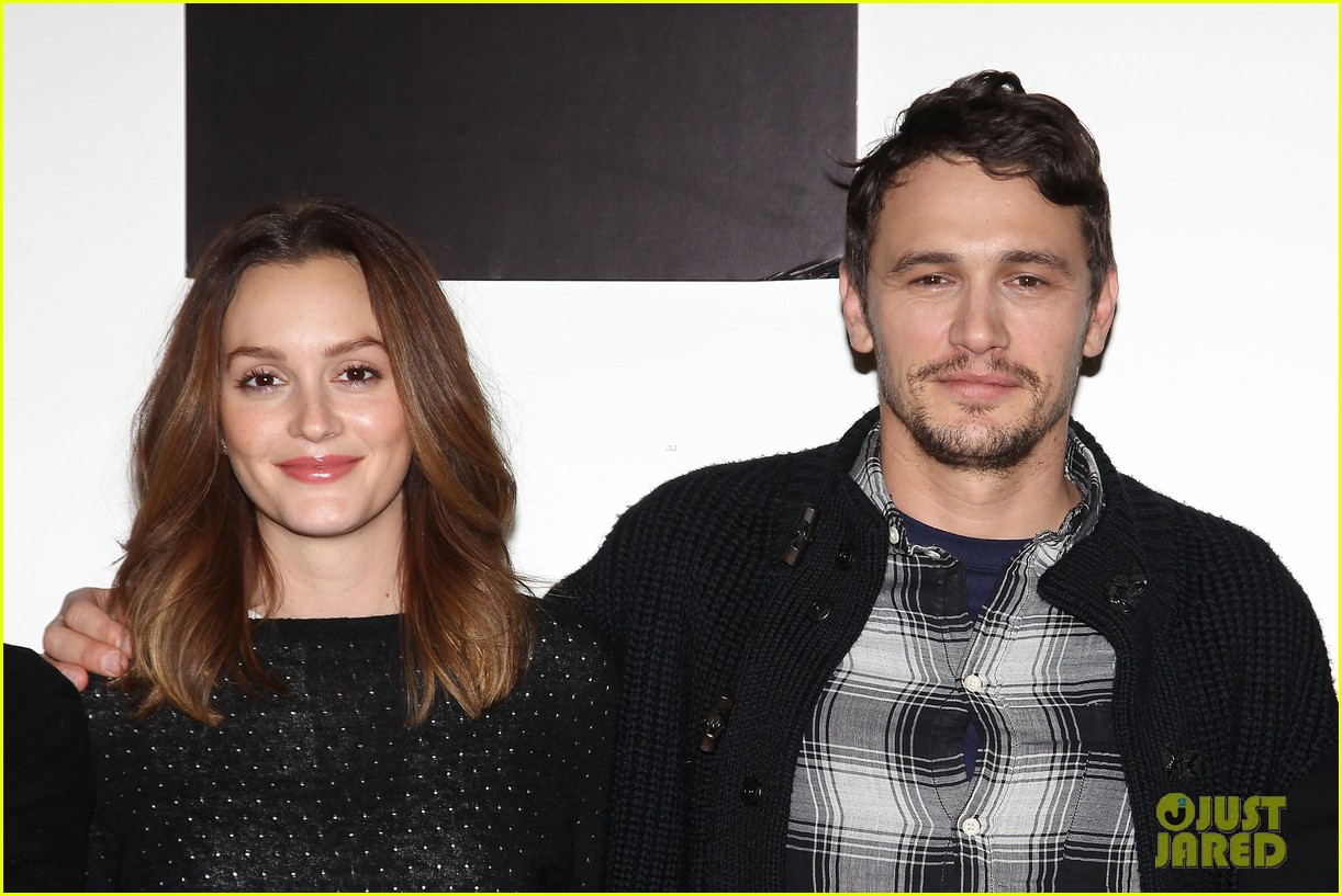 leighton meester james franco of mice men broadway preview 163067174