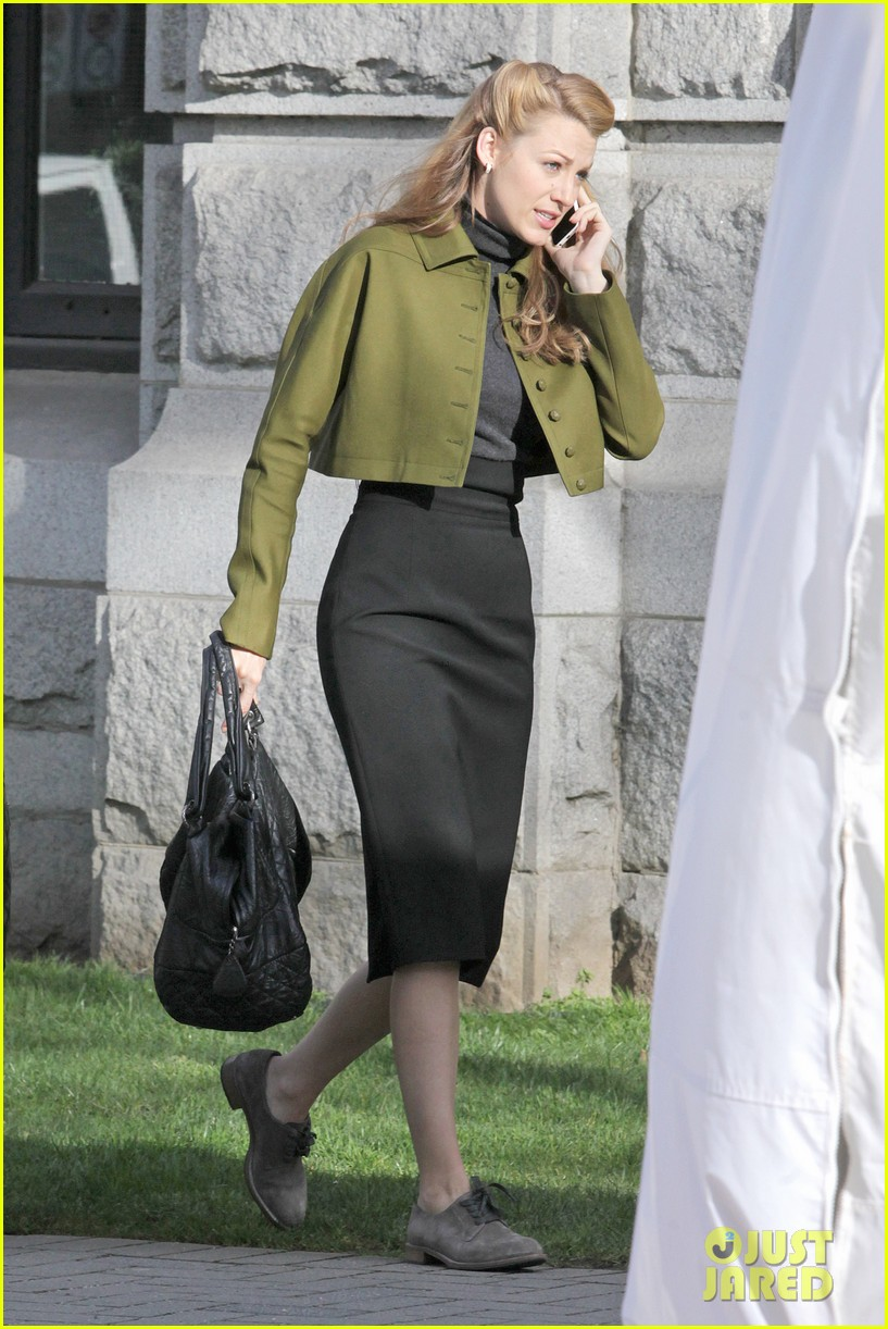 blake lively joins michiel huisman on set for age of adaline 04