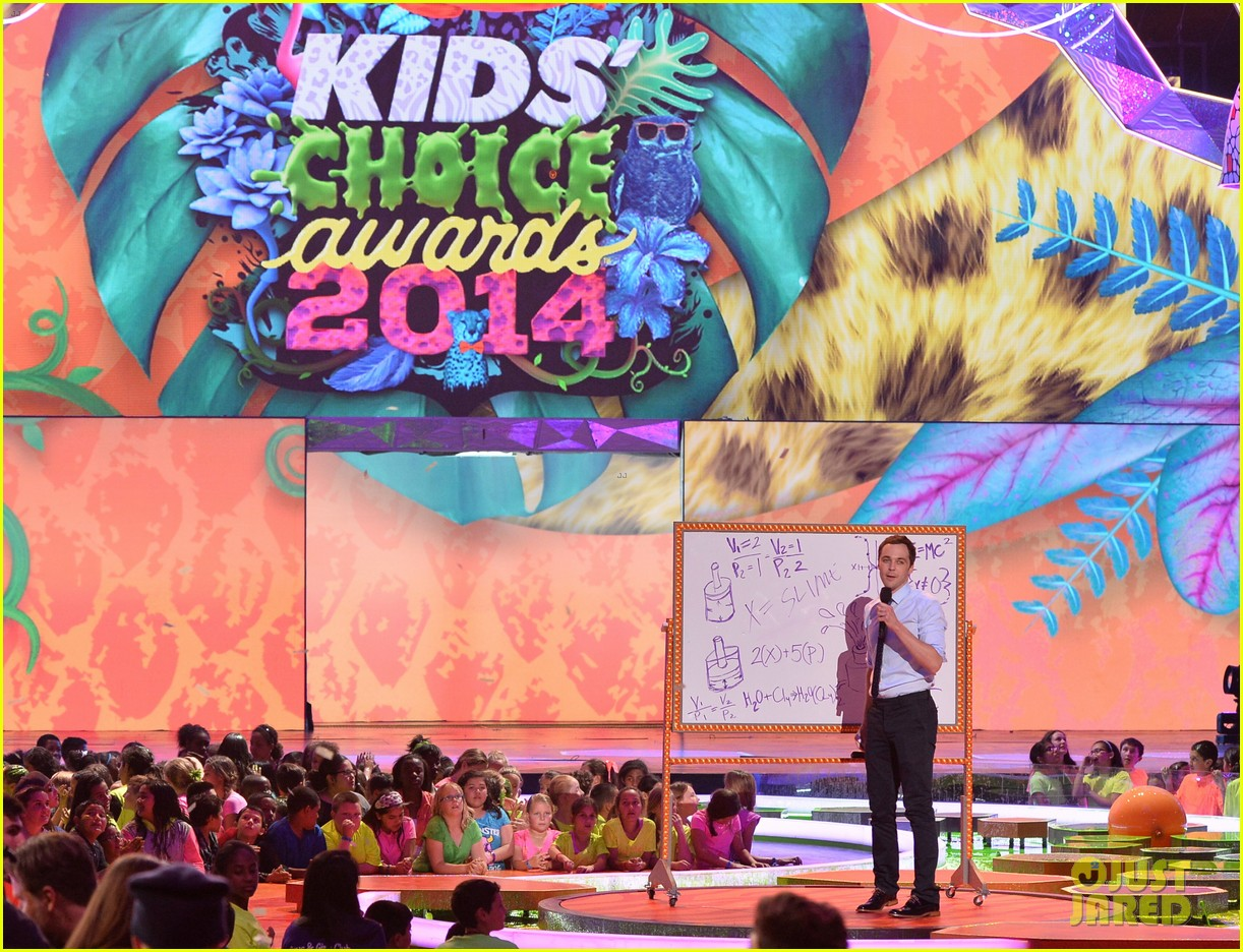 eva longoria jim parsons kids choice awards 2014 053081436