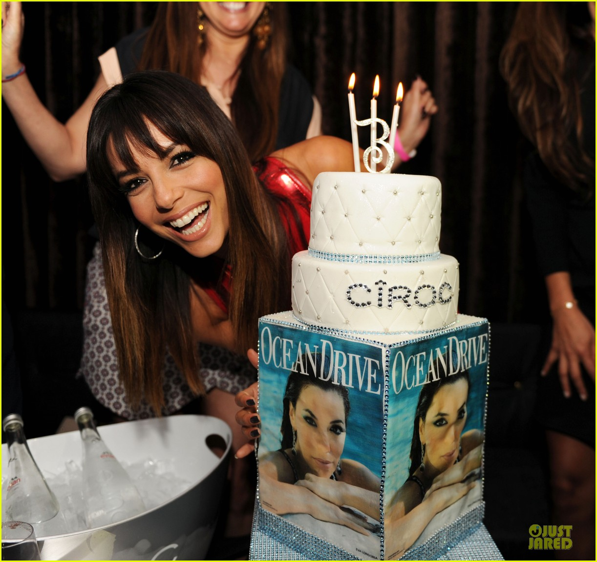 eva longoria ocean drive cover party 023072412