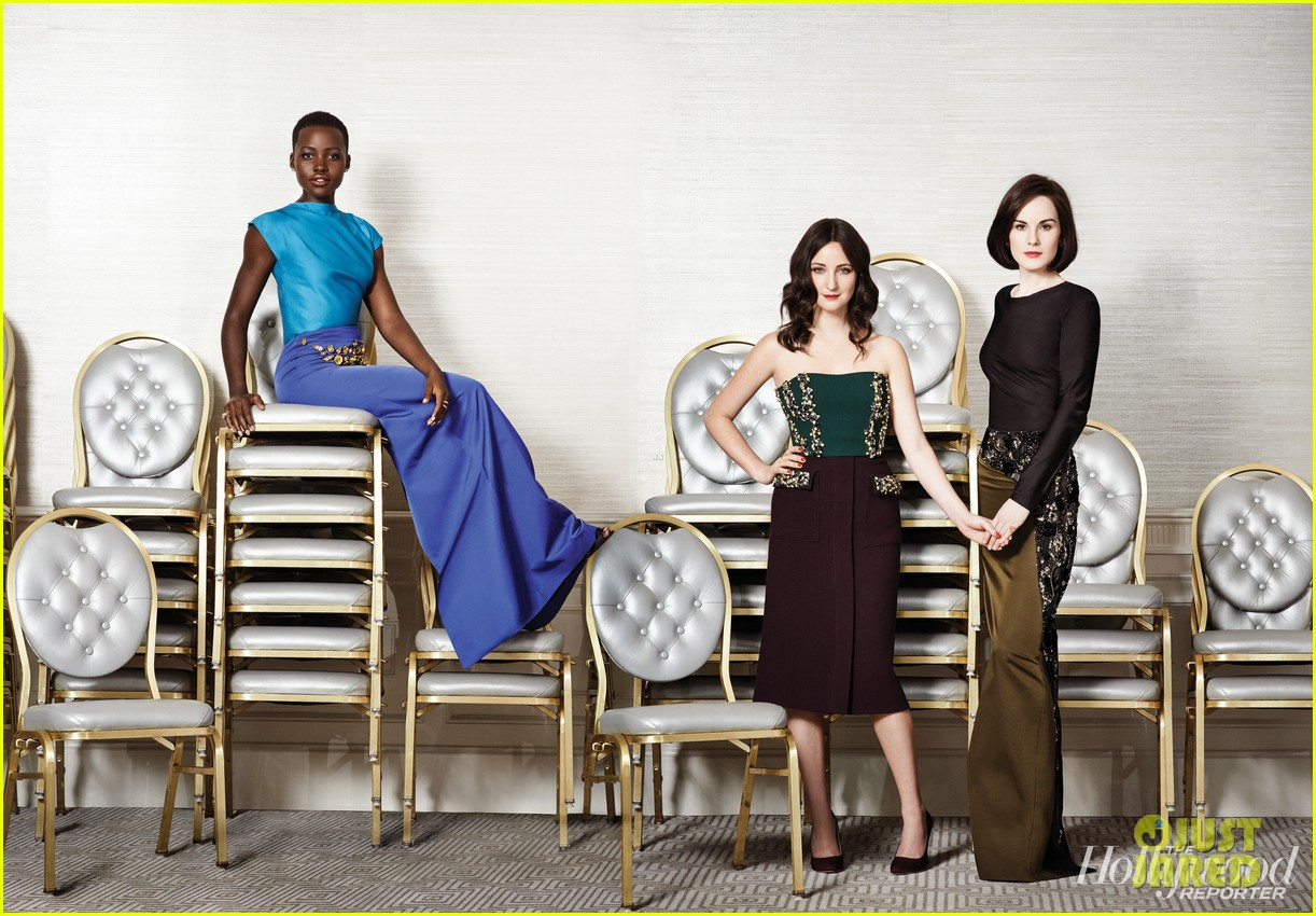 lupita nyongo hugs her stylist for thrs 25 powerful stylists issue kristen stewart more 07