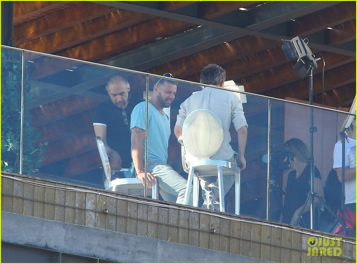 ricky martin films music video for world cup 323070342