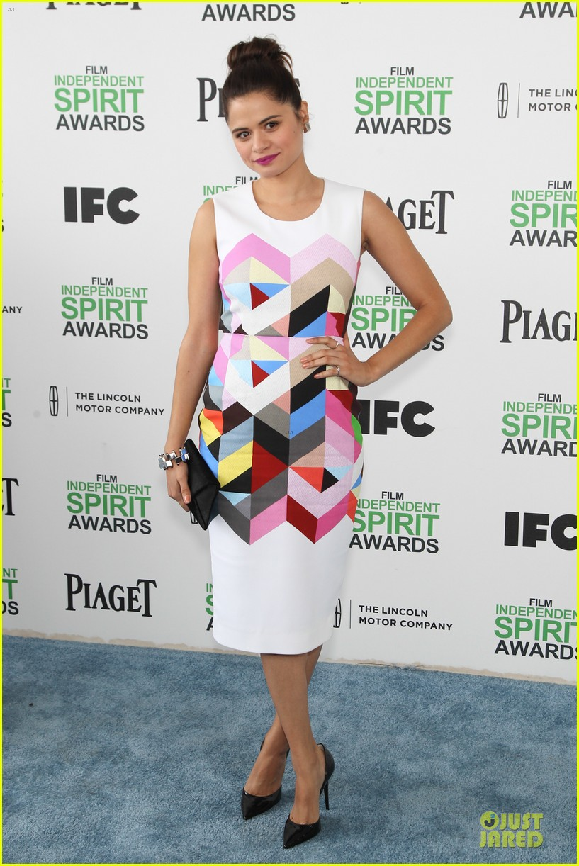 michael b jordan melonie diaz nominees at independent spirit awards 2014 05