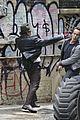 ben mckenzie donal logue gotham fight scene 05