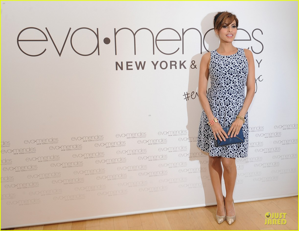 eva mendes new york company collection launch 06