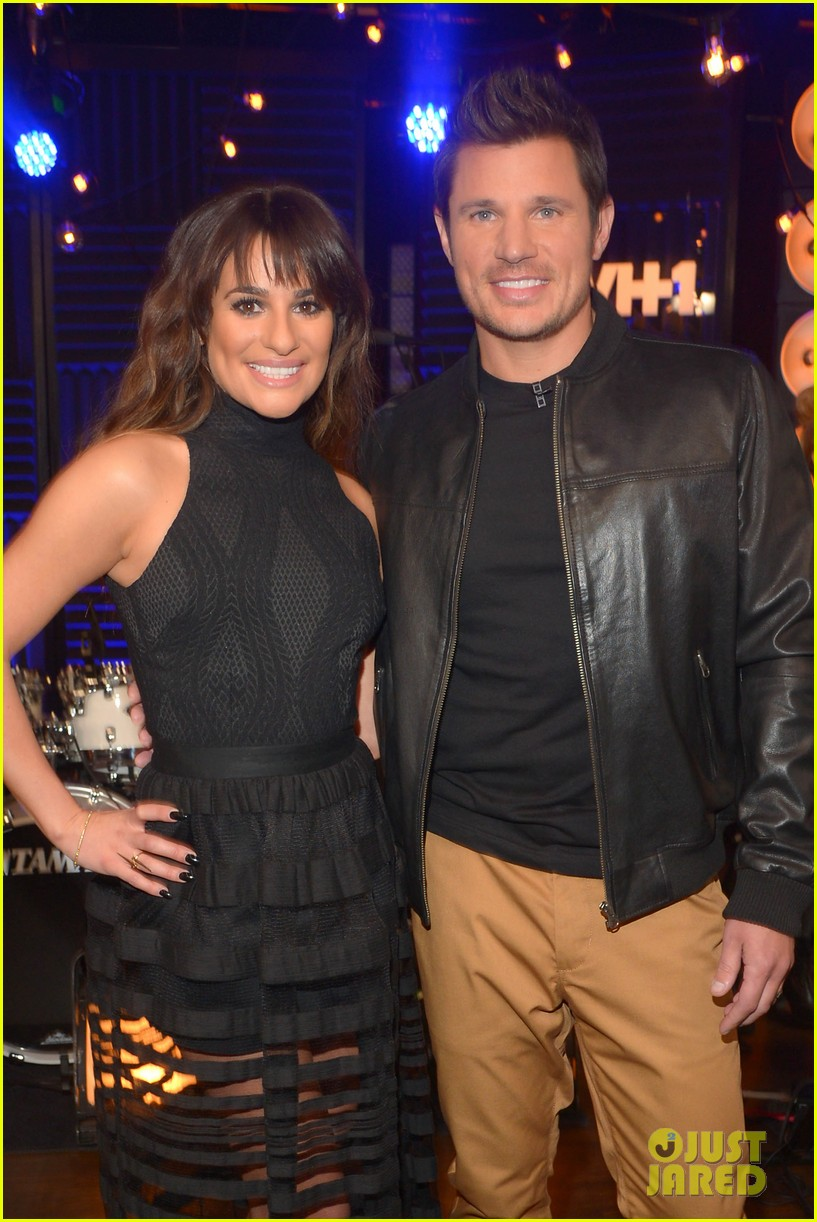 lea michele big morning buzz with nick lachey 07