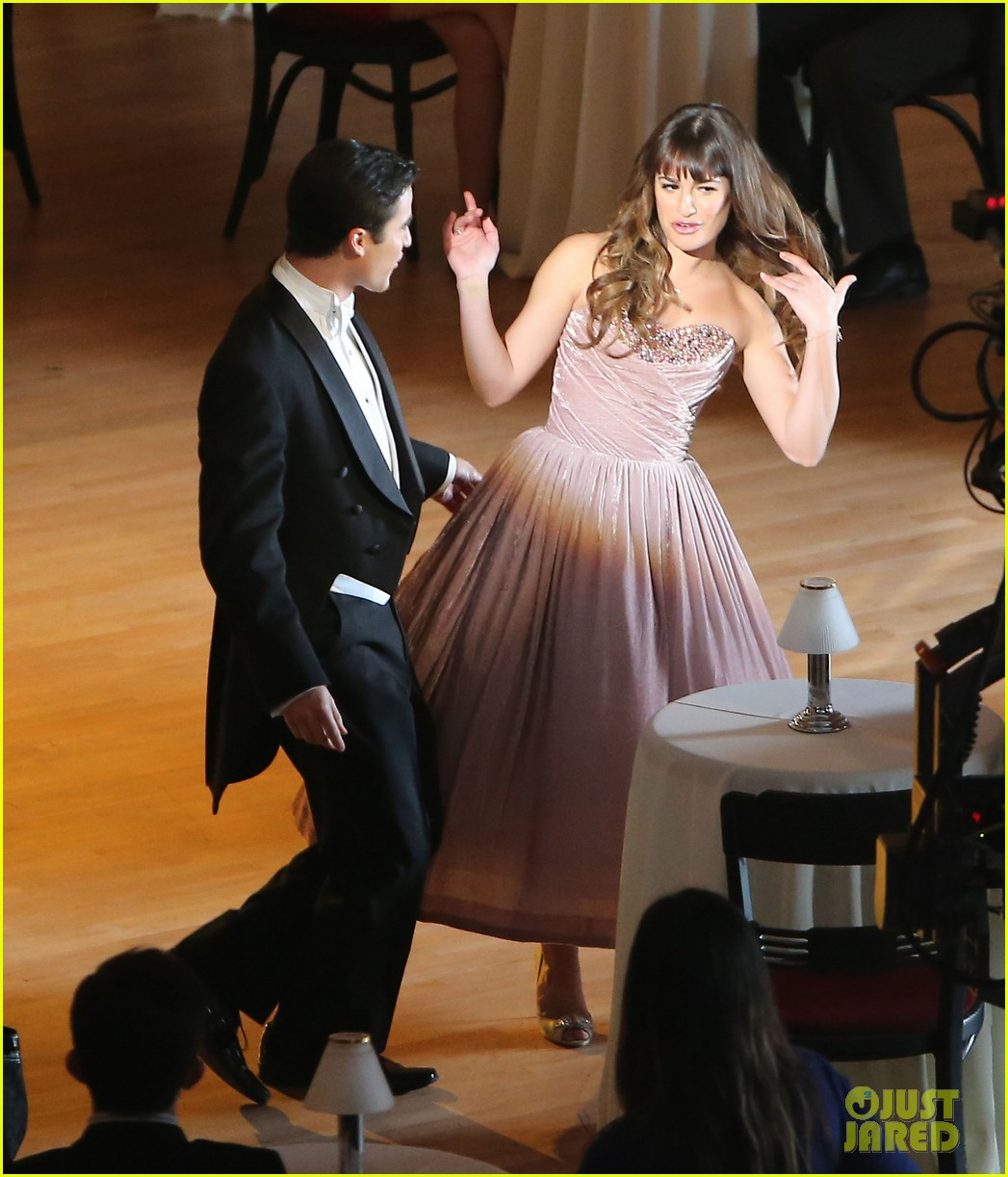 lea michele darren criss classic broadway number glee 073079876