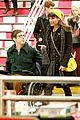 lea michele kevin mchale take glee underground in nyc 06
