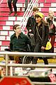 lea michele kevin mchale take glee underground in nyc 11