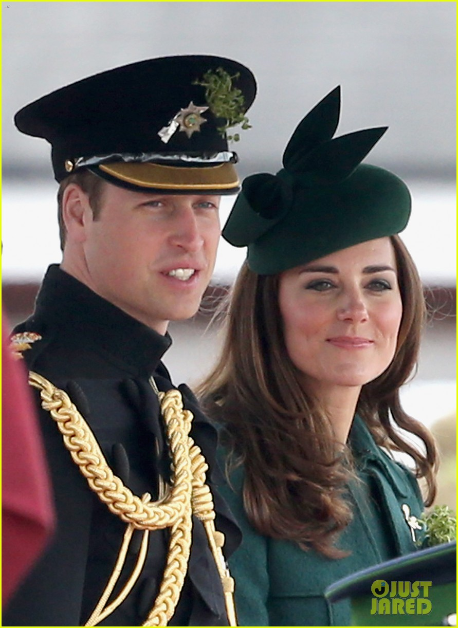 kate middleton prince william st patricks day parade 02