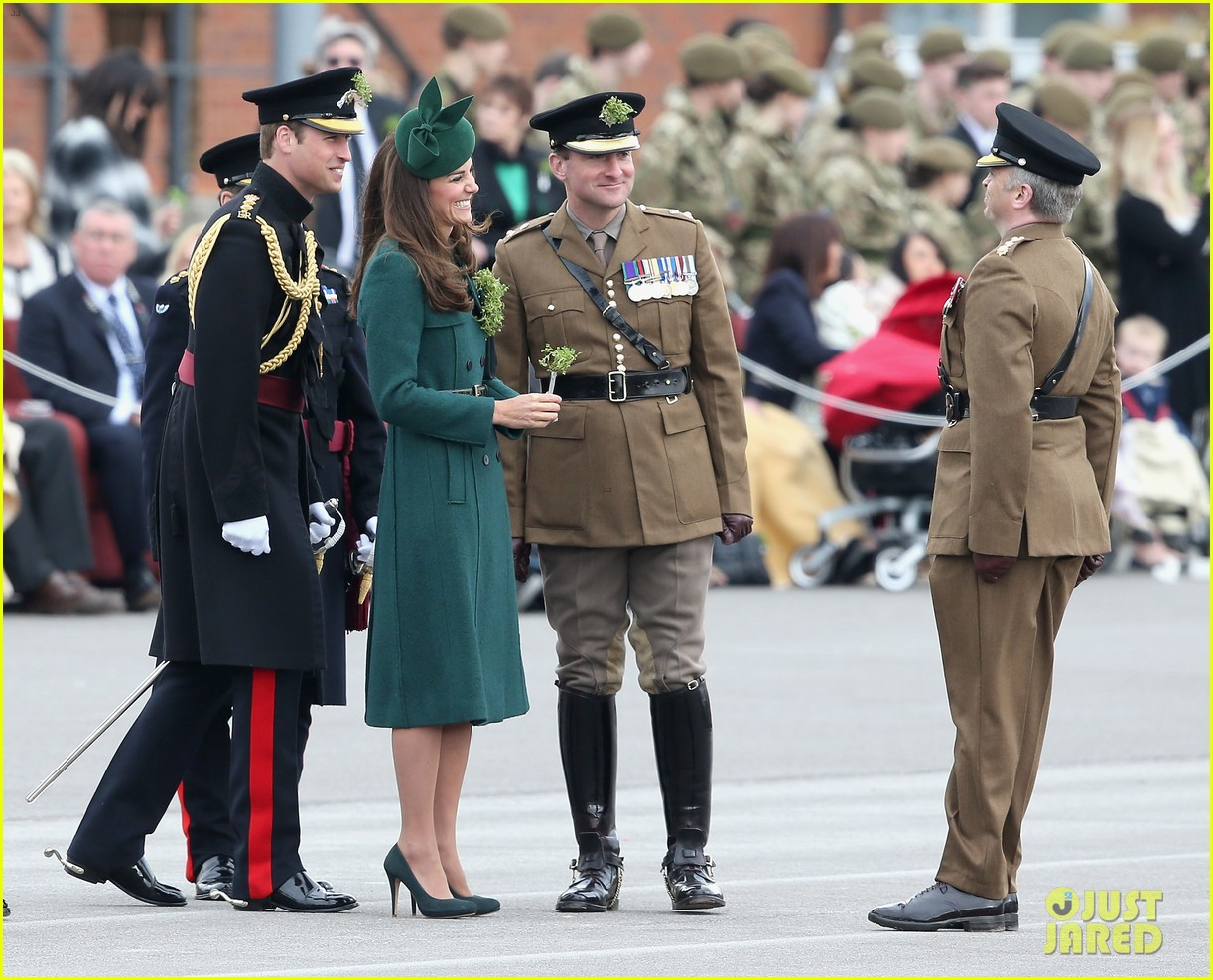 kate middleton prince william st patricks day parade 073073285