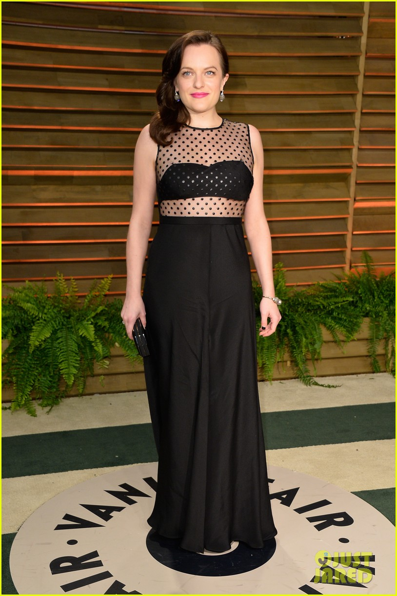 elisabeth moss rashida jones vanity fair oscar party 2014 01