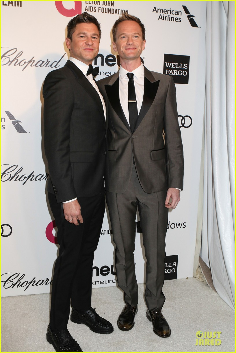 neil patrick harris david burtka are partners in crime at elton john oscars party 2014 09