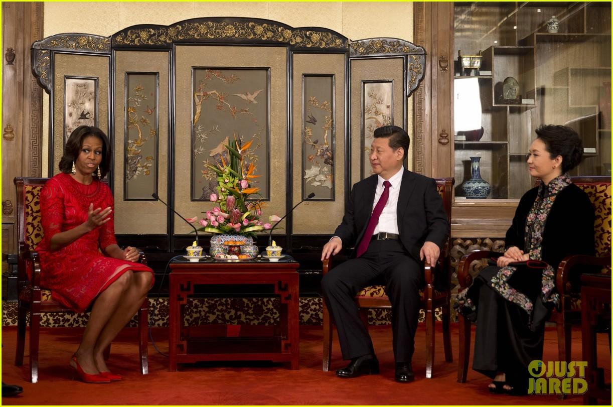 michelle obama travels around china three days of photos 163076746
