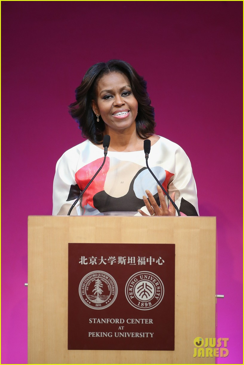 michelle obama travels around china three days of photos 193076749